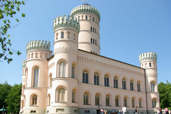 Jagdschloss Granitz beim Ostseebad Binz auf Rügen