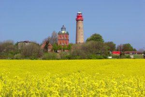Kap Arkona mit Leuchtturm auf der Insel Rügen