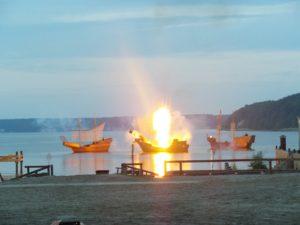 Störtebeker-Festspiele in Ralswiek auf der Insel Rügen