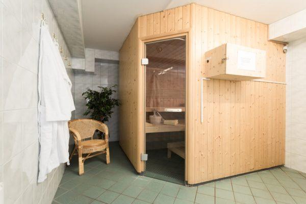 Sauna im Haus der Binzer Sterne