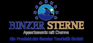 Logo Binzer Sterne im Ostseebad Binz auf Rügen